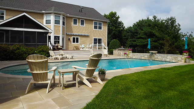 412_car-fin-to-spa-from-shower-bright-ed-cd Custom Swimming Pool Design in Lewes, Delaware - Carter Aquatics